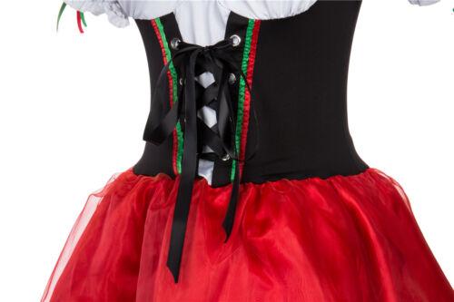 Ladies Oktoberfest Fancy Dress German Bavarian Octoberfest Beer Maid Costume