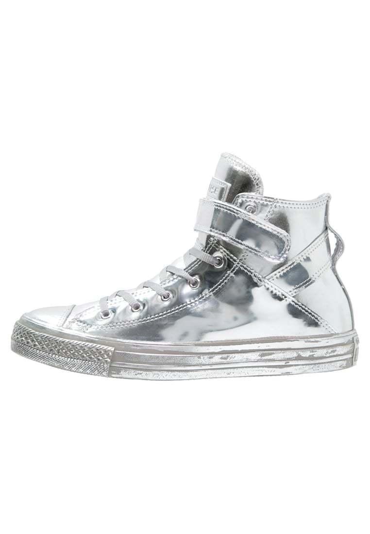 CONVERSE Chucks CT All Star Brea HI-Top Sneaker silber NEU