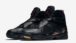 reputable site ece91 ce0bf Details about 2018 NIKE AIR JORDAN VIII 8 OVO BLACK SIZES UK 8.5 & 10 NEW