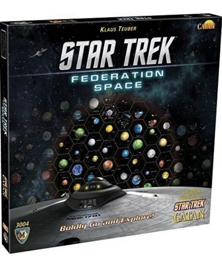 Star Trek Fedaration Space - Expansion for Star Trek Catan