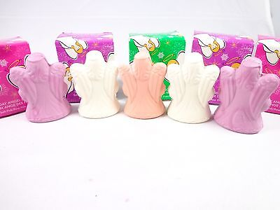 Other Bath & Body Supplies Avon Set Of 5 Soaps Holiday Angels Shapes Pink Peach Nwb Health & Beauty