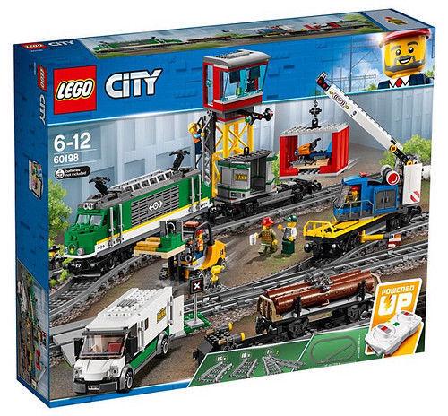 LEGO città 60198  TRENO MERCI    NUOVO