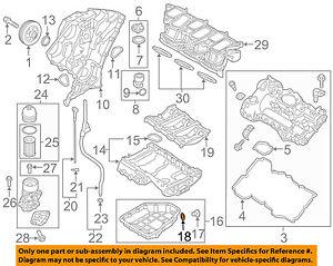 s l300 hyundai oem 11 16 sonata engine oil pan drain plug gasket 2012 hyundai sonata engine diagram at readyjetset.co