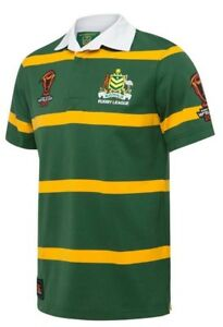 ARL-Kangaroos-2017-Adults-Mens-Retro-World-Cup-Jersey-sizes-M-L-only