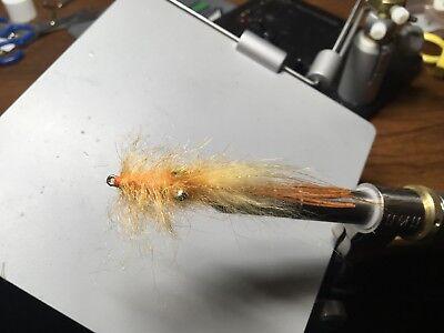 Saltwater Flies Floating rattle Shrimp gamakatsu Size 2Tarpon,Redfish,Snook