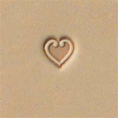 O85 Craftool Heart Stamp Tandy Leather 68085-00