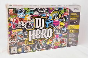 DJ Hero Turntable Kit & Game for Nintendo Wii
