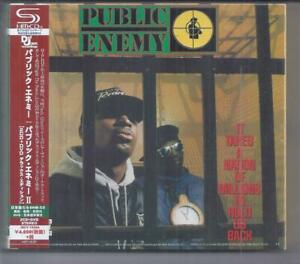 PUBLIC ENEMY It Takes A Nation Of Millions JAPAN 2 SHM CD + DVD Deluxe digipak