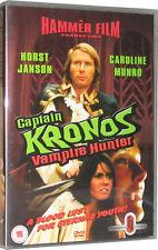 Captain Kronos Vampire Hunter Sci-Fi Hammer Film DVD