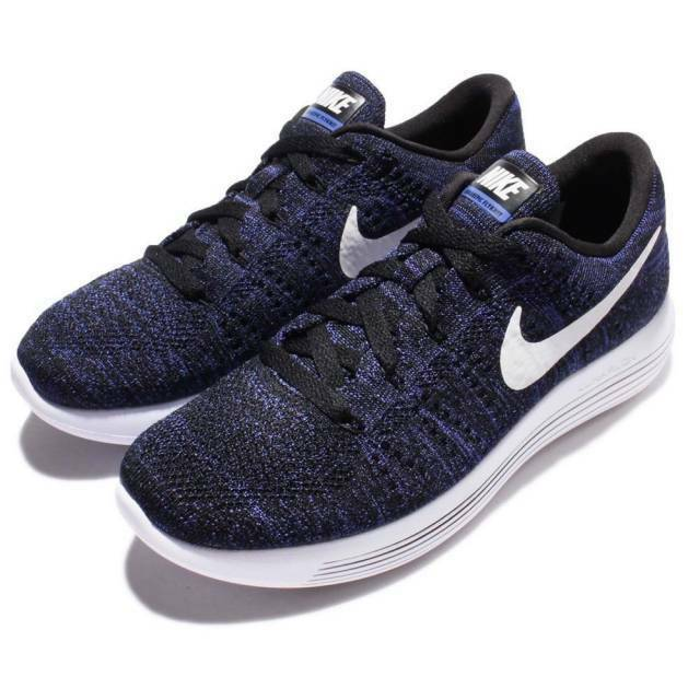 Womens Nike Lunarepic Low Flyknit 843765-005 Black White Brand New New New Size 12 d40b59