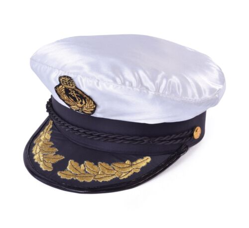 Deluxe Captains Navy Hat