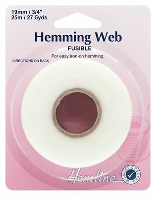 Hemming web tape  38mm  No Sewing,Simply Iron on 5 metre length of Wonderweb