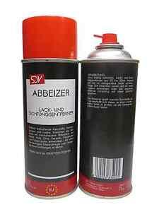 ABBEIZER 2x 400ml Lackentferner Dichtungsentferner Spray Dose Autolack KFZ PKW