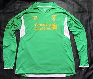 55d8041e97d The Reds FC LIVERPOOL goalkeeper jersey Warrior 2012-2013 GK Shirt ...