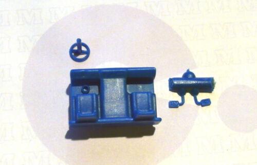 H0 NUOVO 90 0001 72bl 3 pezzi progettazione di interni blu per camion w50 CABINA NORMALE