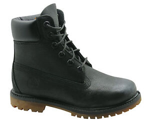 Premium D72 Leather Full Botas Timberland Negro para encaje 6 D70 Af 8555b mujer Inch de 8555b aqfanZXW