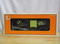 Lionel 6-16794 Wicked Witch Halloween Boxcar In Box Glow In The Dark Rare