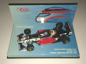 Minichamps-F1-1-43-DALLARA-MUGEN-HONDA-F301-SATO-WINNER-ZANDVOORT-MASTERS-2001
