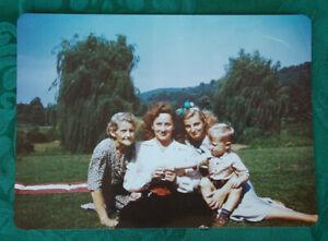 Set of 3 RARE Original Boswell Sisters Martha's Farm Pics ca. 1940s