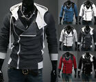 New Fashion Men's Anime Cosplay Costume Hoodie Cardigan Coat Jackets