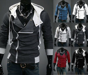 New Fashion Men's Anime Cosplay Costume Hoodie Cardigan ...