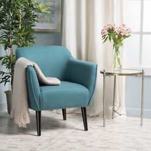 Tresten Fabric Mid Century Modern Arm Chair