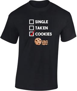 Individual-Taken-034-COOKIES-034-Camiseta-Regalo-Divertido-Hombre-Mujer-Unisex-Broma