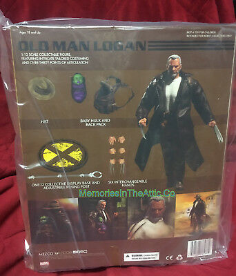 "Mezco One:12 Old Man Logan Wolverine Baby Hulk Qualité Action 6/"" Action Figure"