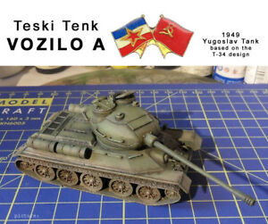 VOZILO-A-Yougoslav-T-34-variant-1-72-scale-conversion