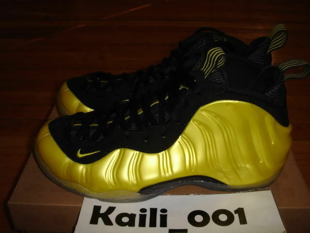 Nike Air Foamposite One ElectroLime Yellow Royal Copper Galaxy Pewter OG A Brand discount