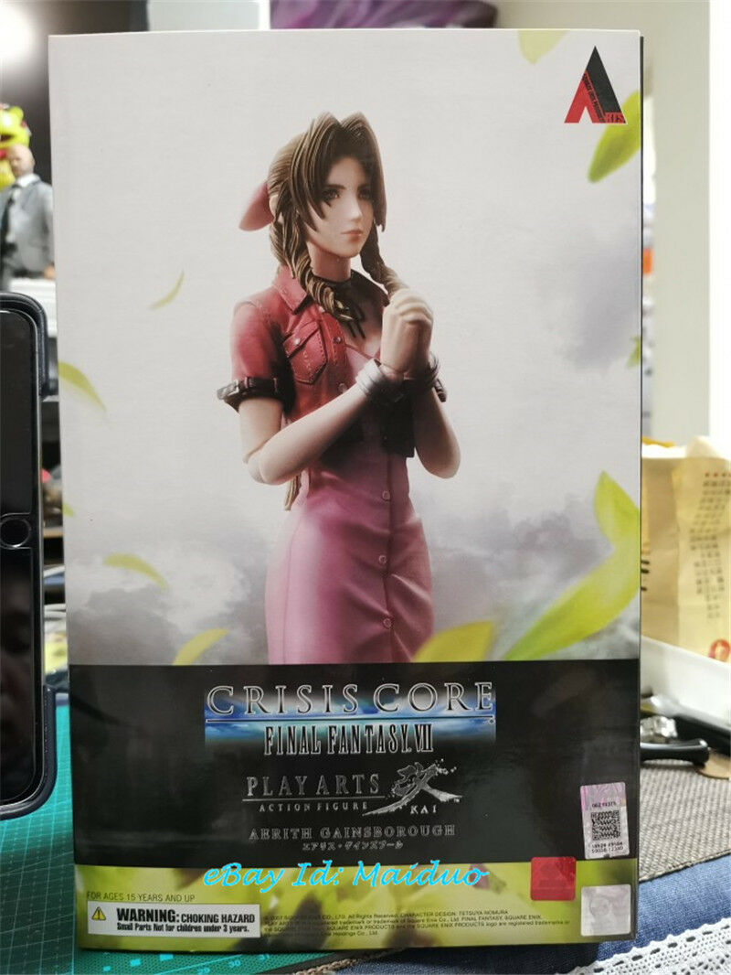 FF7 Aerith Gainsbgoldugh Action Figure Final Fantasy VII SQUARE ENIX ENIX ENIX PA KAI New 88f809
