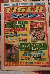 TIGER & Scorcher Comic - 12th October 74