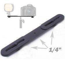 Blitzschiene Erweiterungsschiene Blitzhalter für Befestigung Shoe Kamera DSLR