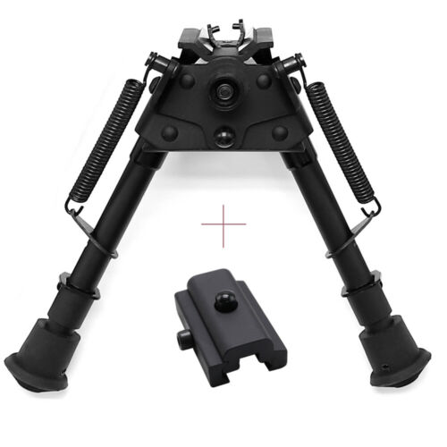 GOODTAC 6/'-9/'/'  Heavy Duty Harris Style Bipod Swivel Stud 4 Adapters Choice