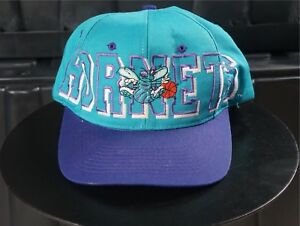 cae8458597d Image is loading Rare-Vintage-CLUTCH-Drew-Pearson-Charlotte-Hornets-Snapback -