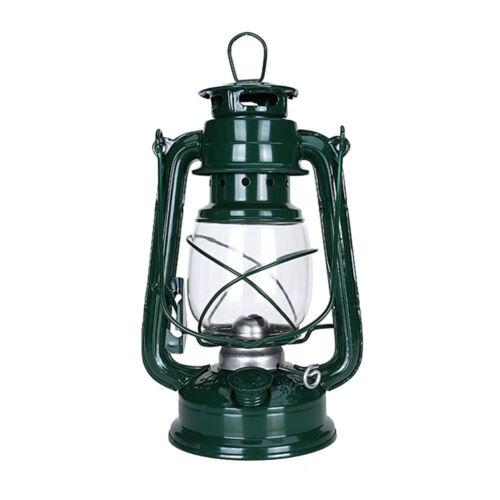 Retro Oil Lantern Garden Outdoor Camping Kerosene Hurricane Paraffin Wick Lamps