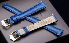 New Gucci 12 MM Blue Lizard Leather Band - (12.107) - Fits Gucci 3000 L
