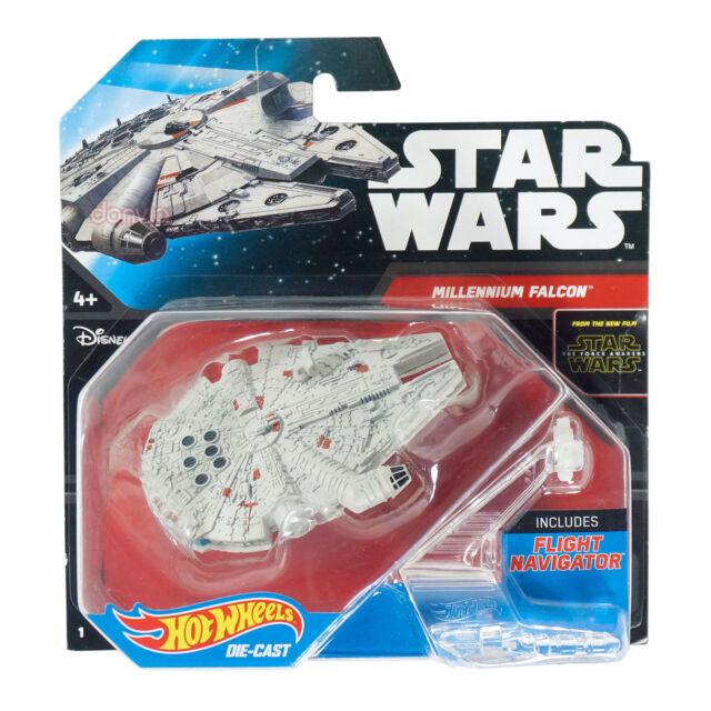 Hot Wheels Starships Star Wars The Force Awakens Millenium Falcon Die-Cast