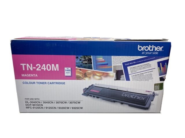 Brother Genuine TN-240M Magenta Printer Toner DCP9010CN HL3070CW HL3040CN MFC