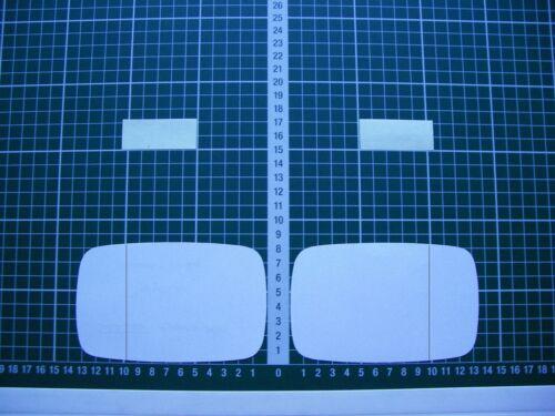 Rétroviseur Extérieur Miroir De Verre Ersatzglas Moto Kawasaki ZZR 1100 C D Asph