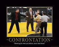 Iowa Hawkeye Wrestling Motivational Poster Art Print Dan Gable Tom Brands Mvp64