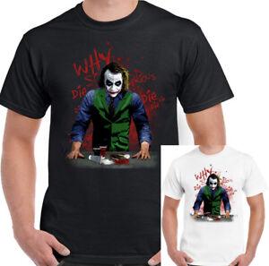 WHY-SO-SERIOUS-T-Shirt-Mens-Joker-Batman-Heath-Ledger-The-Dark-Knight-Funny
