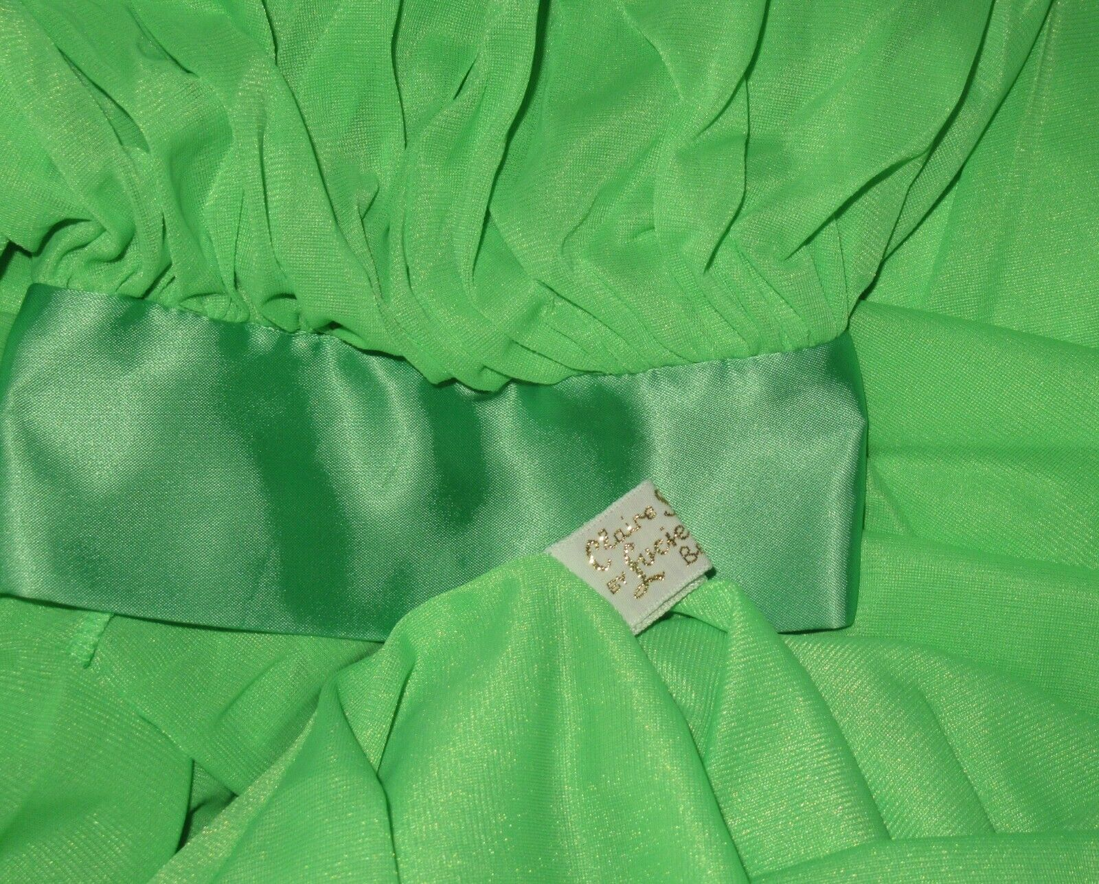 """Vintage LUCIE ANN 306"""" Sweep Dressing Gown or Pei… - image 6"""
