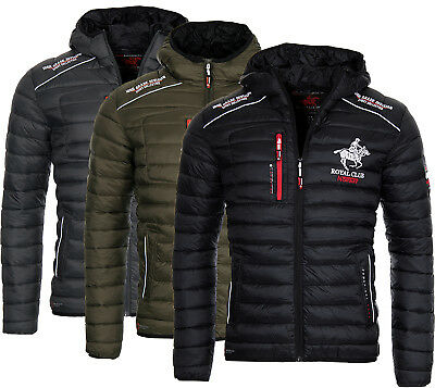 Geographical Norway Men S Transition Jacket Quilted Bomber