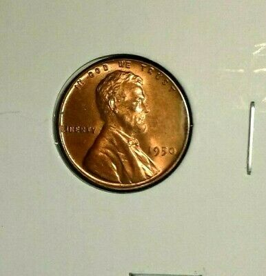 1955 P  Lincoln  Wheat  Cent  BU    Red    Nice  US  Coin   Free Shipping