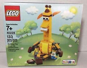 "New Toys /""R/"" Us LEGO The Giraffe Geoffrey and Friends Exclusive Set 40228 TRU"