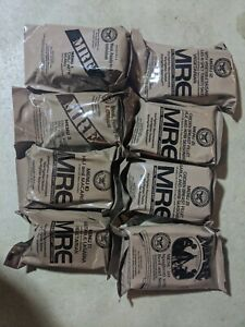 8 mre meals ready to eat sealed dated 2020
