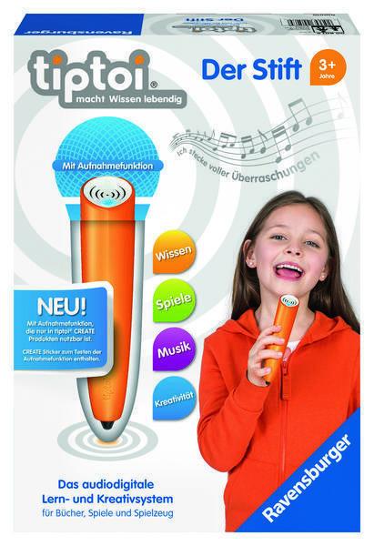 Tiptoi Der Stift das audiodigitale Lern- und Kreativsystem  Ravensburger - Tip