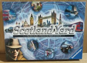 Scotland Yard board game - Ravensburger complete v good condition all ages