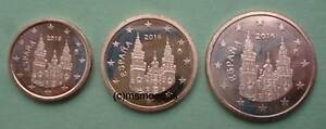 Spanien 1+2+5 Euro Cent Münzen Euromünzen coins moedas Jahr nach Wahl